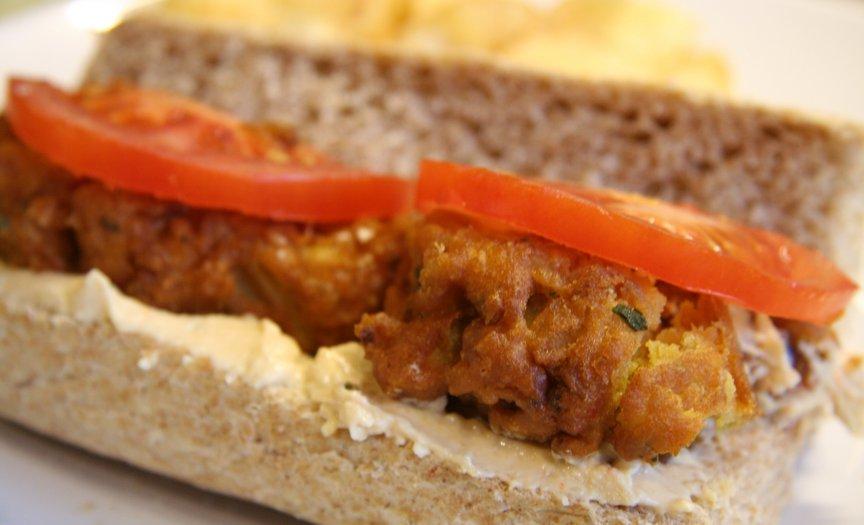 bhaji sandwich