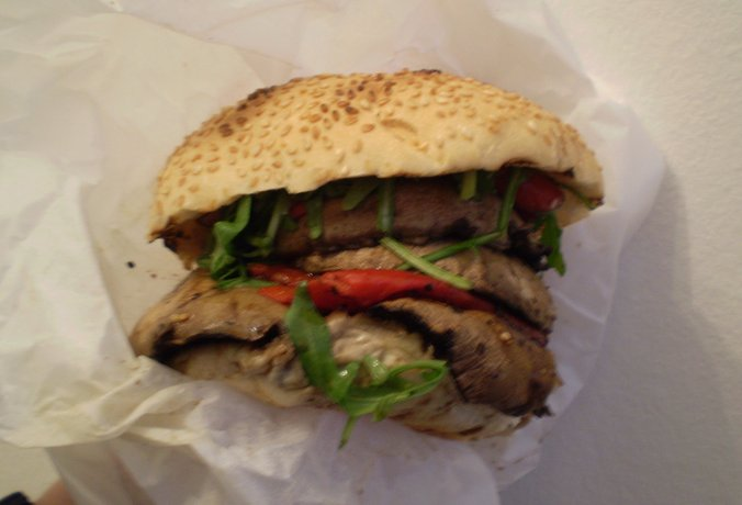 GBK portabella burger