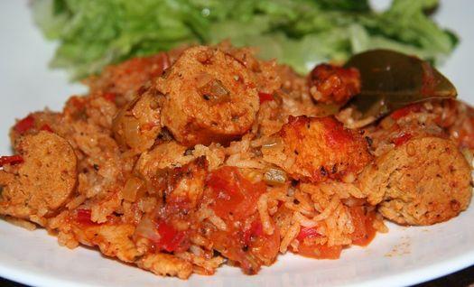 Veggie Creole jambalaya