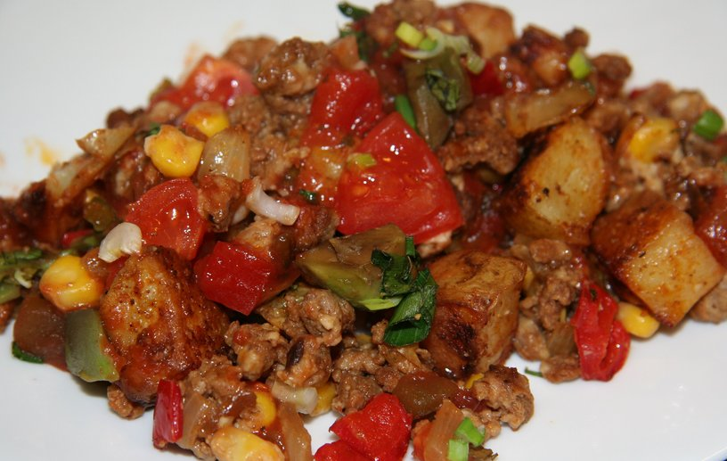 Spicy Mexican hash