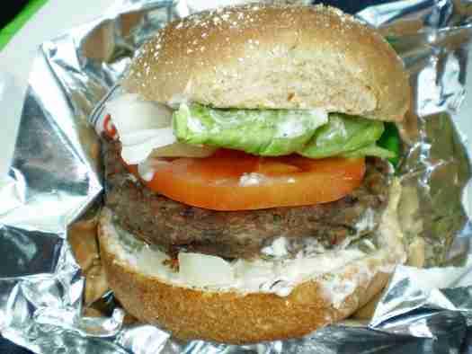 A&W veggie burger