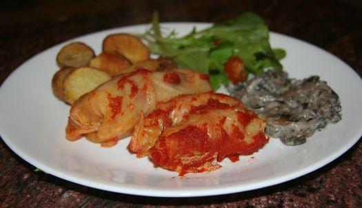 Holubtsi (cabbage rolls)