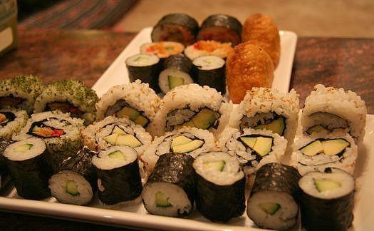 Japan Centre veggie sushi
