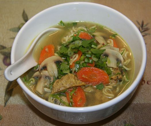 Ramen soup deluxe » Thrifty Living