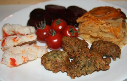 Vegan Bajan fishcakes